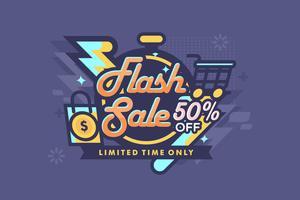 Pris Flash Illustration vektor