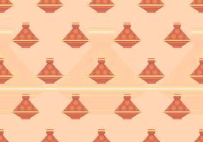 Tajine marockanska sömlösa mönster vektor