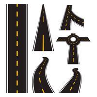 Autobahn-Straßen-Vektor