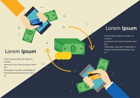 Ändern Sie das Geld vektor