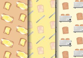 Kostenlose Cute Breakfast Food Patterns