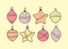Freier Weihnachtsflitter-Vektor vektor