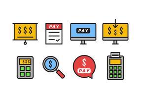 Gehaltsabrechnung Icon Pack
