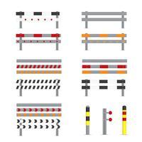 Illustration av Guardrail vektorer