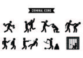 Satz von Diebstahl Icons
