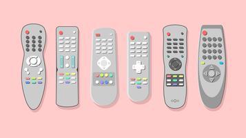 Silbernes Fernsehen-entfernter freier Vektor