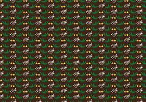 Hand gezeichnetes Weihnachtsnetter Muster-freier Vektor
