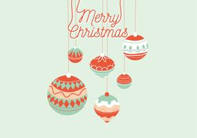 Weihnachtsgruß-Illustration vektor