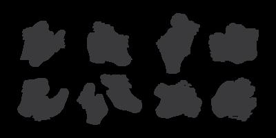 Hände klatschen Icons