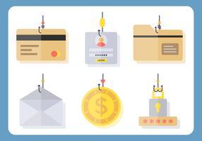 Ikonische Phishing-Vektoren