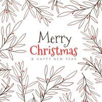 Hintergrund Weihnachtsblätter
