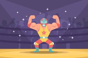 Freier mexikanischer Wrestler-Vektor