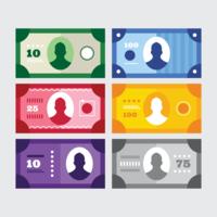 Beispiel Geld Vektor
