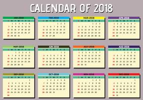 Enkel utskrivbar kalender