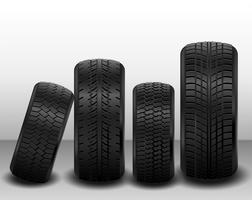 Vektor-pneumatischer Reifen-Satz vektor