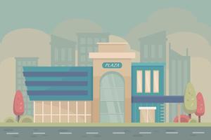köpcentrum vektor
