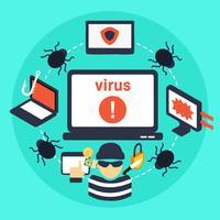 Kostenlose Phishing-Internet-Vektor