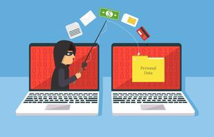 Phishing-Abbildung vektor