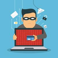 Phishing-koncept vektor