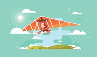 Gratis Glider Vector
