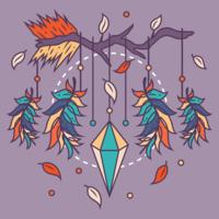 shamanism drömfångare