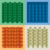 Dachziegel-Material-Vektor
