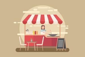 Kostenlose Konzessions-Illustration vektor