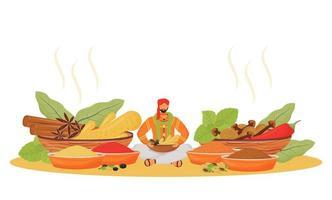 indisk kryddbutik