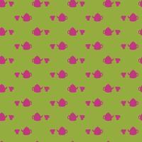 abstrakt mönster med koppar. vektor