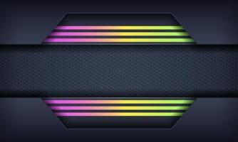 abstrakter Hintergrund mit bunten Verlaufslinien vektor