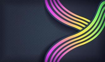 abstrakter Hintergrund mit Luxusstil vektor