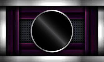 abstrakter Hintergrund mit buntem Verlaufslinienrahmen