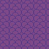 nahtloser Musterhintergrund der rosa und blauen Kreise vektor