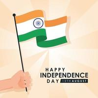 Happy India Independence Day Feier Banner