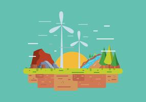 Natürliche Ressourcen Vektor