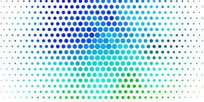 mehrfarbige Vorlage mit Kreisen.