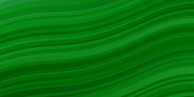 hellgrüner Hintergrund mit gekrümmten Linien.