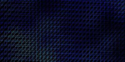 dunkelblaue Vorlage mit Linien. vektor