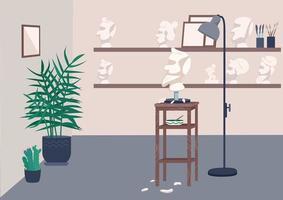 Atelierzimmer vektor
