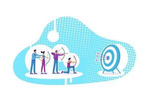 affärsstrategi bullseye