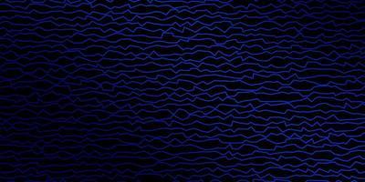 mörkblå mall med linjer.