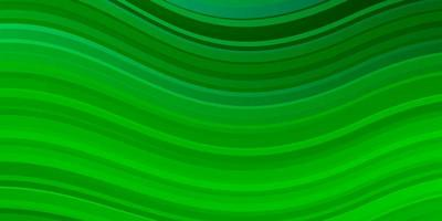 ljusgrön bakgrund med böjda linjer.