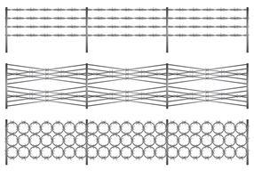Rasiermesser-Draht-Vektor-Design llustration