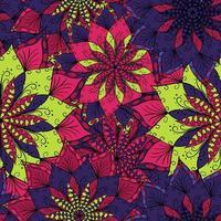 blomma mandala bakgrund. vektor