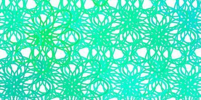 ljusgrön konsistens med kurvor.