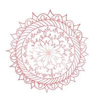 Zentangle Mandala für Malbuch.