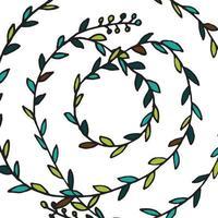 zentangle mandala för målarbok vektor