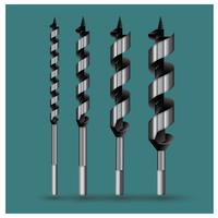 Borrbiten Typer Vector