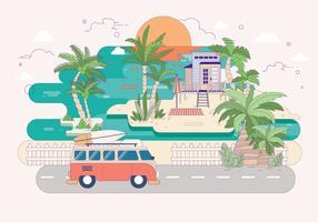 palmier vol 2 vektor