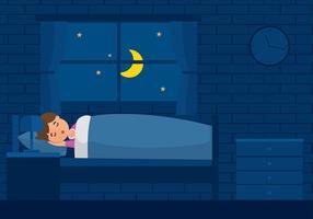 Schlafenszeit Kostenloser Vektor